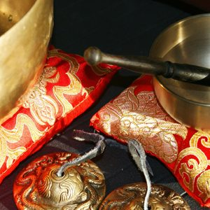 SINGING BOWLS AND CYMBALS