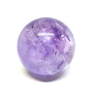 Amethyst Sphere, Polished crystals