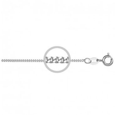 40cm sterling silver chain