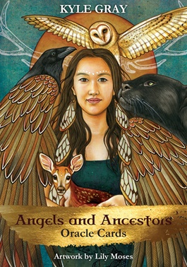 Angels and Ancestors by Kyle Gray, shamanic, animal guides, ancestors