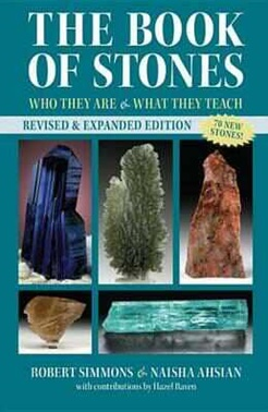 The Book of Stones by Robert Simmons, best crystal book, crystal dictionary