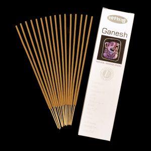 Ganesh Natural Incense Sticks, honey resins, sustainable, slow burning