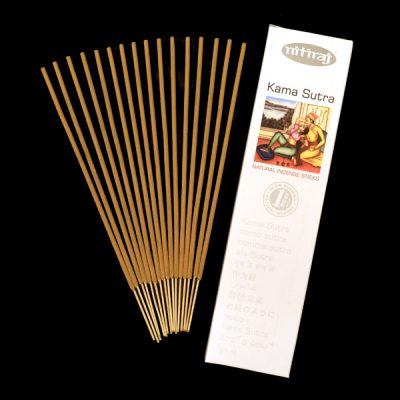 Kama Sutra Natural Incense Sticks, natural resins, sustainable, sensual scent, floral essence