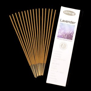 Lavender slow burning natural incense sticks, sustainable incense, slow burning