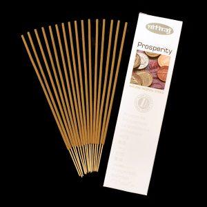 Prosperity Natural Incense Sticks, abundance, slow burning, aromatic oils