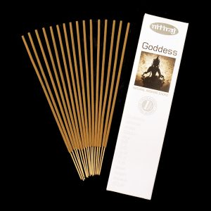 Goddess natural incense sticks, slow burning, natural resins, sustainable