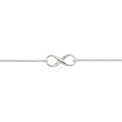 Infinity Bracelet in Sterling Silver