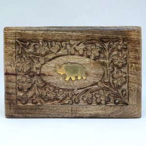 Wooden Box - Elephant