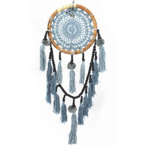 Bamboo dream catcher black and grey