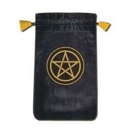 Velvet mini bag pentacle