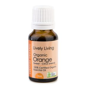 Orange, lively living 15ml pure essential oil