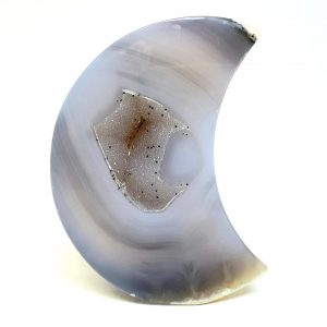 Polished Agate Moon