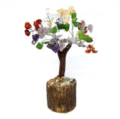 Small Crystal Chip Fairy Tree