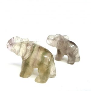 Fluorite Elephant Small