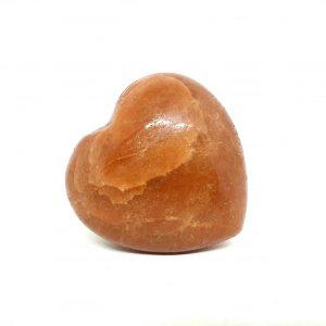 Orange Jasper Heart
