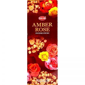 Amber rose incense sticks