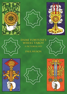 Dame Fortunes wheel tarot by Paul Huson