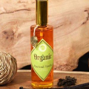 Patchouli Vanilla room spray organic goodness