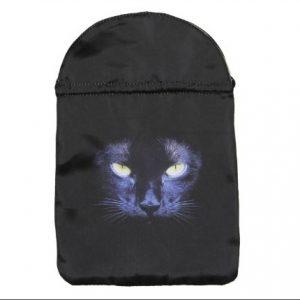 Black satin black cat tarot bag