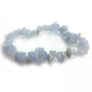 Blue lace agate, chip bracelets