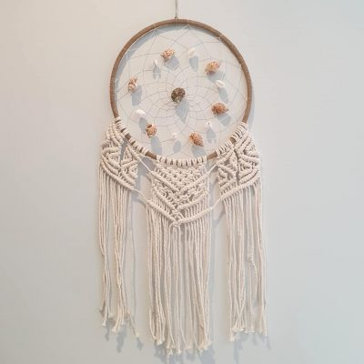 grass ring shell dream catcher