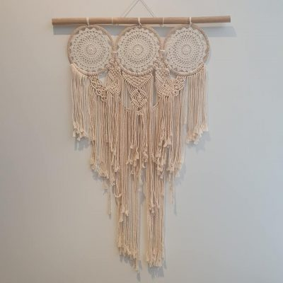 3 ring crochet dream catcher