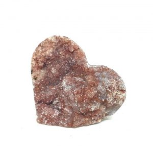 Red Amethyst Heart