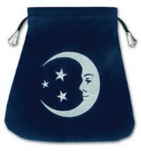 Stars and Moon Tarot velvet bag