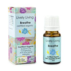 breathe oil blend lively living