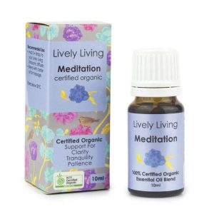 meditation lively living oil blend