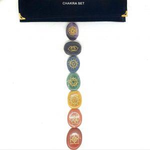 seven chakra stone kit