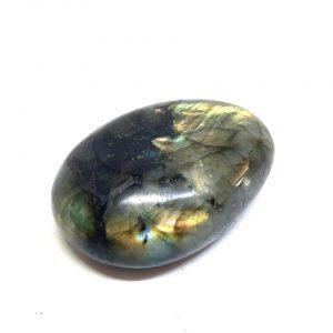 Labradorite Palm Stone polished crystal