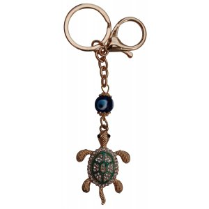 Evil eye with key chain or key ring