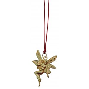 golden fairy hanging