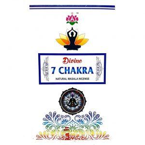 7 chakra divine incense sticks