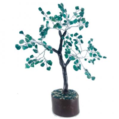 Green aventurine crystal tree
