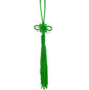 Green Lucky Knot