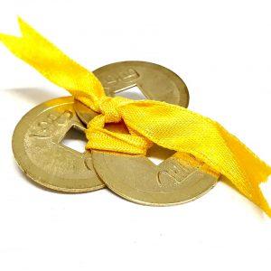 i ching coins yellow feng shui