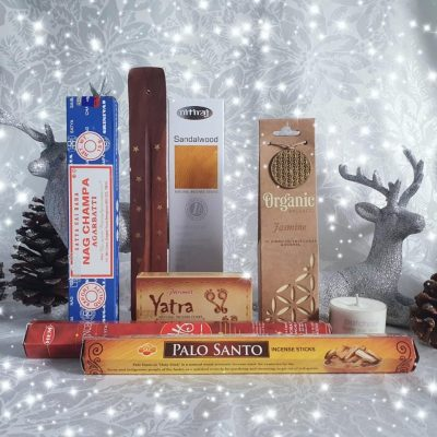 aroma bliss incense gift box