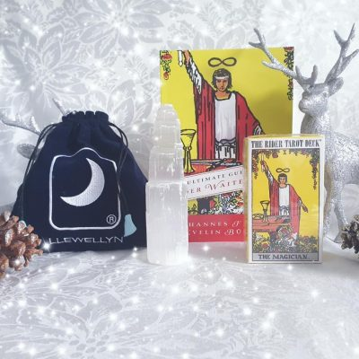 Rider Waite Tarot Cards, Ultimate guide to tarot, tarot pouch, selenite , wheel of fortune