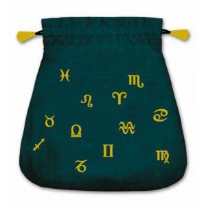 Lo Scarbo astrological tarot bag velvet